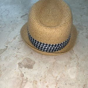 Accessories - Sale‼️Fedora Hat with Black & White Checkered Band